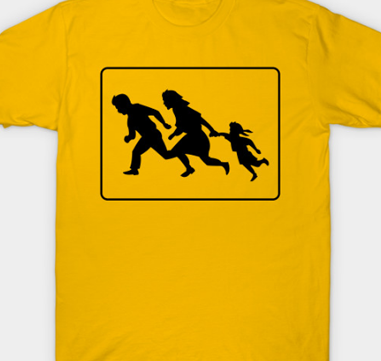 Buy My Family Crossing T-Shirt