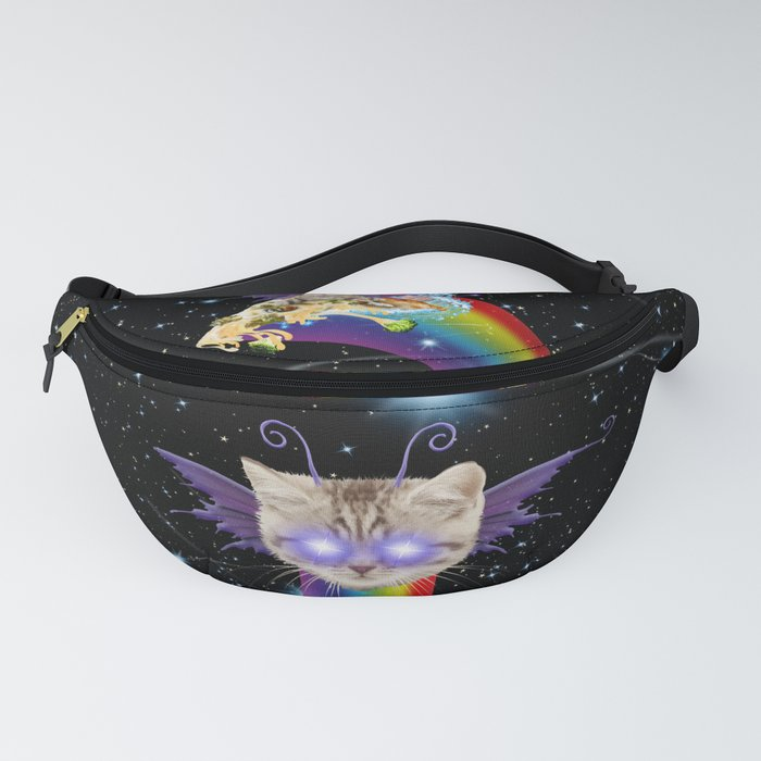 cat-fairy-riding-broccoli-pizza-in-space-fanny-packs